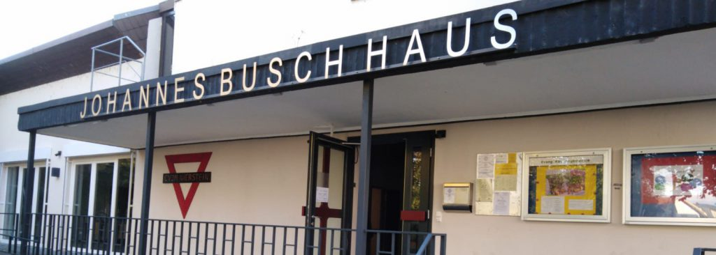 Johannes-Busch-Haus, das Vereinsheim des CVJM Nierstein