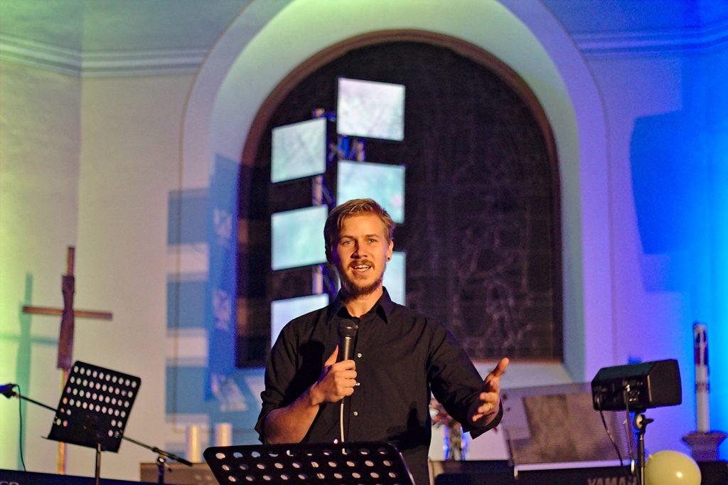 Pregidt im Jugendgottesdienst